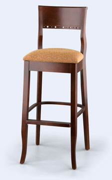 276B - Biedermeier Bar Stool
